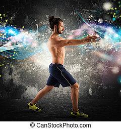 condición física, energía