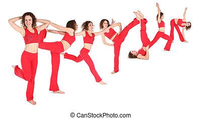 condición física, grupo
