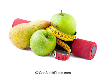 condición física, y, dieta