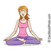 condición física, yoga