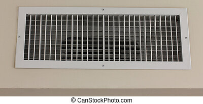 condicionador ar, abertura, ralar