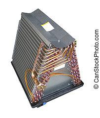 condicionador ar, evaporator, bobina