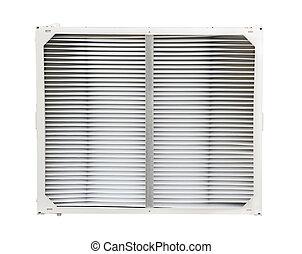 condicionador ar, filtro