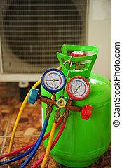 condicionador ar, reparar