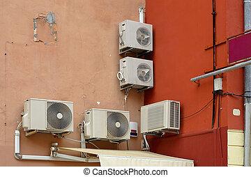 condicionadores, ar