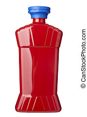 condimento, bottiglia, ketchup, cibo, condimento
