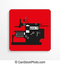 Industrial equipment. Machine.