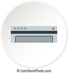 Conditioner icon circle