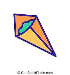 conditionnement, nori, icône, vecteur, contour, illustration