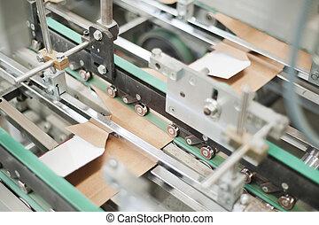 conditionnement, production, carton