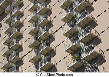 Condo apartment building