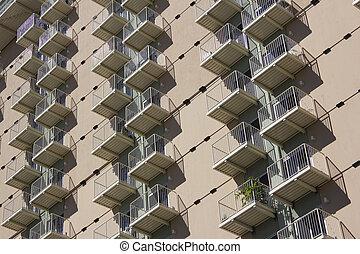 condo, edificio apartamento