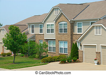 Condo Homes - Residential condominium home in an upscale...