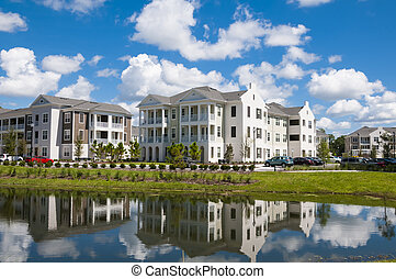 Condo reflections - Apartments and Condos with reflection in...