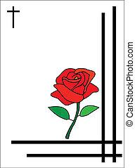 condoleance, カード, ∥ために∥, 葬式, ∥あるいは∥, 発送, へ, 家族, ∥あるいは∥, 親類