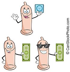 Condom Character Collection 2