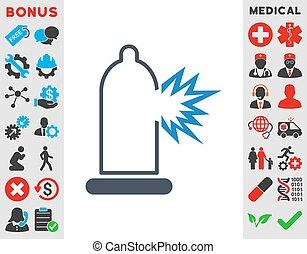 Condom Damage Icon