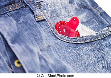 Condom - Pocket with condom