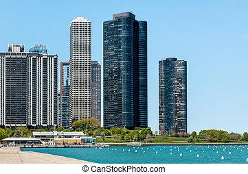 condominios, punto, puerto