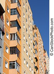 Condominium - Apartment building from communism period in...