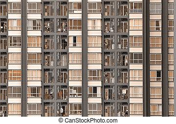 Condominium background