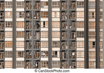 Condominium background