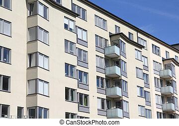Condominium - Stockholm, Sweden. Generic modern residential...