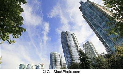 Condominiums in Vancouver BC 1080p - Highrise Condominium...