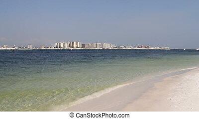condominiums, plage, destin