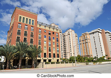 Condos - Highrise condominiums, Coral Gables, Florida