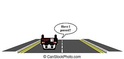 conductor, aprendiz