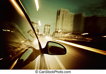 conduire, nuit