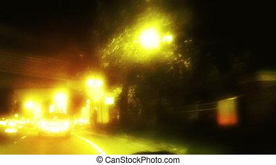 conduite, défaillance, nuit, orlando, temps, fl