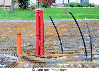 Conduits in House Foundations