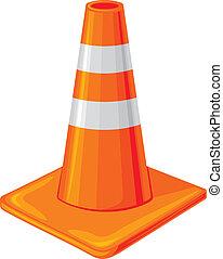 cone tráfego