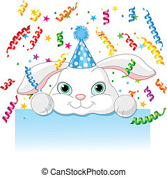 conejito, cumpleaños