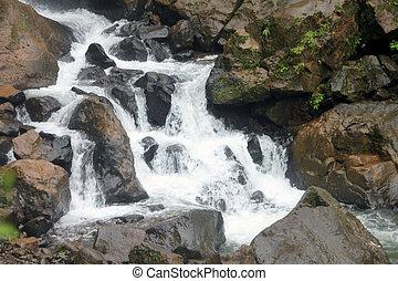 conexión en cascada, cascada