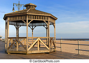 Coney Island Boardwalk Gazebo