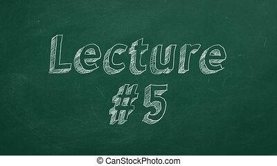 conférence, #5