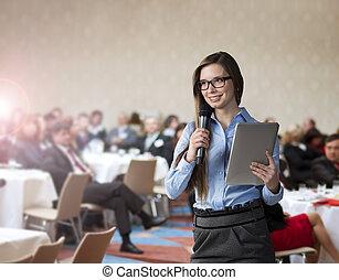 conférence affaires