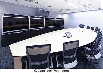 conférence, mee, business, telepresence, vidéo, ...