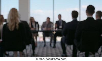 conférence, professionnels