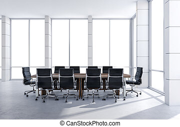 Clipart de conf rence bureau grand moderne fen tre for Grand bureau moderne