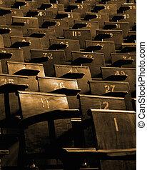 conférence, sièges