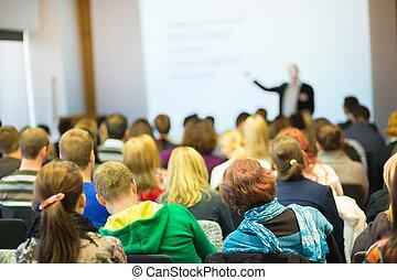 conférence, workshop., faculté