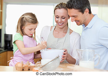 confection, biscuits, famille