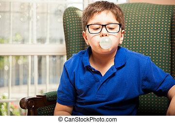 confection, bubble-gum, grand