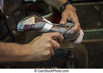 confection, chaussure