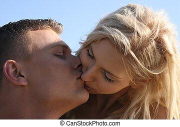 confection, couple, amour