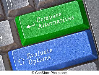 confection, décision, clavier clavier
